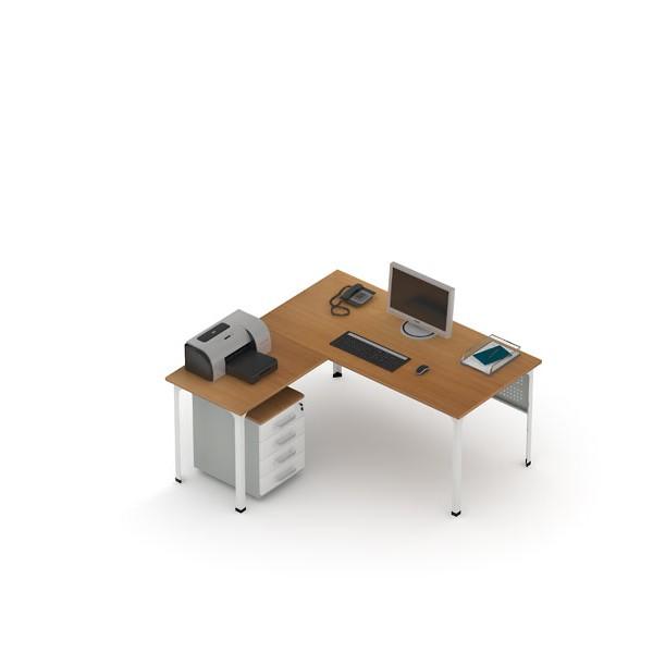 Стол офисный угловой ДиКом
