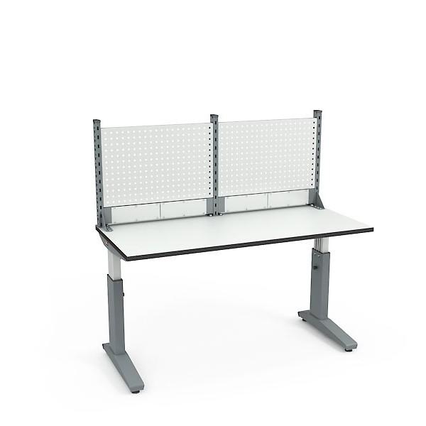 Стол монтажный ДиКом СР-150-01 ESD + Экран ВС-150-Э1 ESD