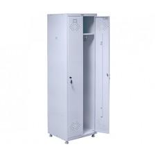 Медицинский шкаф для раздевалок ПРАКТИК МД 2 ШМ-SS (21-50)
