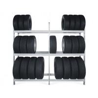 Стеллажи для хранения шин и колес