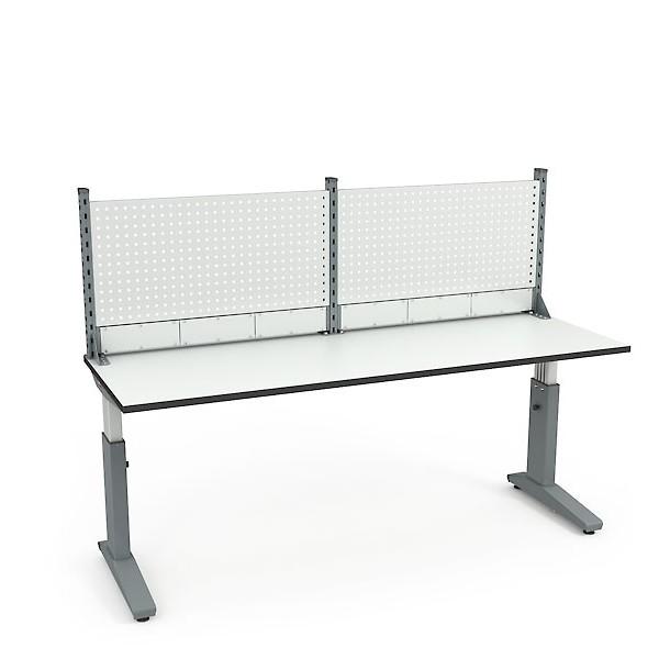 Стол монтажный ДиКом СР-200-01 ESD + Экран ВС-200-Э1 ESD