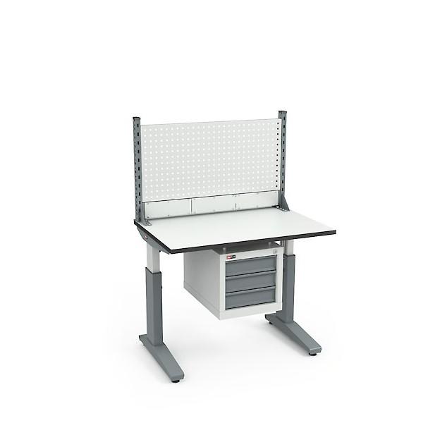 Стол монтажный ДиКом СР-100-02 ESD + Экран ВС-100-Э1 ESD