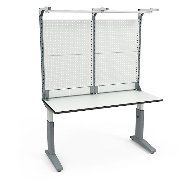 Стол монтажный ДиКом СР-150-01 ESD + Экран ВС-150-Э4 ESD