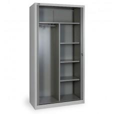 Шкаф офисный, комбинированный ДиКом КД-144К с дверьми-жалюзи