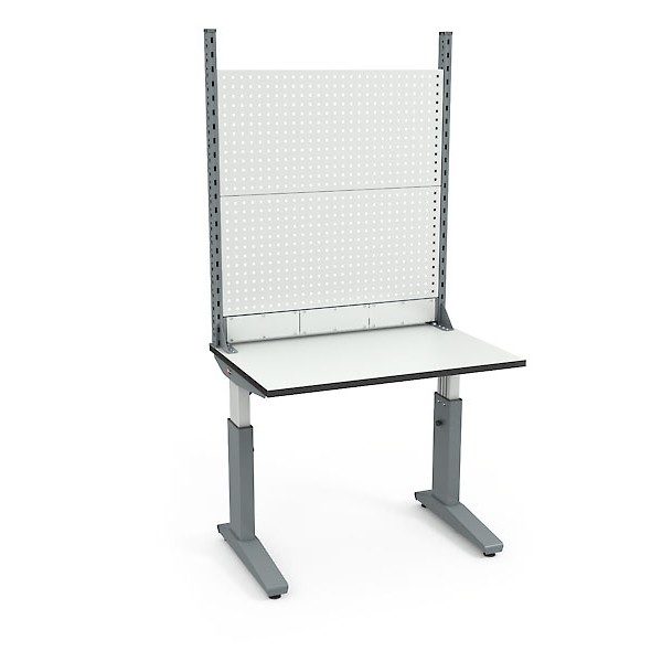 Стол монтажный ДиКом СР-100-01 ESD + Экран ВС-100-Э2 ESD