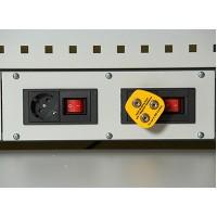 Вставка с адаптерами  под 4 розетки ESD