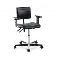 Металлический офисный стул TRESTON X20PU( с подлокотниками)