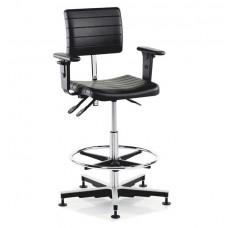 Металлический офисный стул TRESTON X25PU( с подлокотниками)